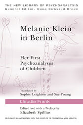 Melanie Klein in Berlin by Claudia Frank