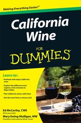 California Wine For Dummies by McCarthy;  Mary Ewing-Mulligan