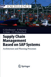 Supply Chain Management Based on SAP Systems by Gerhard F. Knolmayer