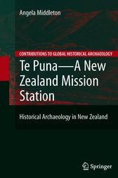 Te Puna - A New Zealand Mission Station by Angela Middleton