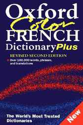 Oxford Color French Dictionary Plus by Marianne Chalmers