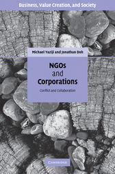 NGOs and Corporations by Michael Yaziji