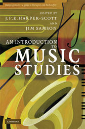 An Introduction to Music Studies by J. P. E. Harper-Scott