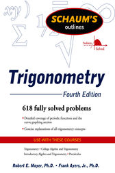 Schaum's Outline of Trigonometry, 4ed by Robert Moyer