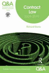 Q&A Contract Law 2009-2010 by Richard Stone