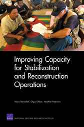 Improving Capacity for Stabilization and Reconstruction Operations by Nora Bensahel