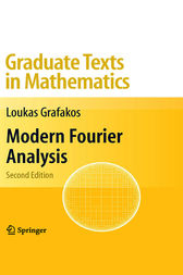 Modern Fourier Analysis by Loukas Grafakos