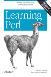Learning Perl by Randal L. Schwartz