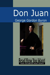 Don Juan by George Gordon Byron