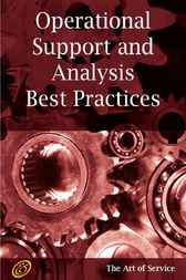 ITIL V3 Service Capability OSA Operational Support and Analysis of IT Services Best Practices by Ivanka Menken