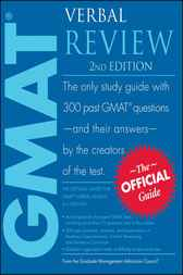 The Official Guide for GMAT Verbal Review by Graduate Management Admission Council (GMAC)