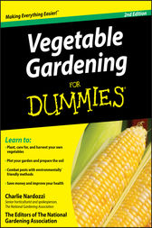 Vegetable Gardening For Dummies Ebook By Charlie
