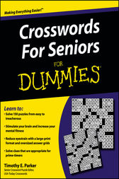 Crosswords for Seniors For Dummies by Timothy E. Parker