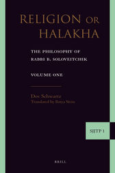 Religion or Halakha