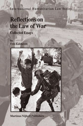 Reflections on the Law of War by Frits Kalshoven
