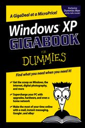 Windows?XP Gigabook For Dummies by Peter Weverka