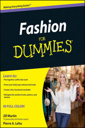Fashion For Dummies by Jill Martin