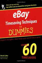 eBay Timesaving Techniques For Dummies by Marsha Collier