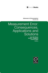 Measurement Error by Jane Binner