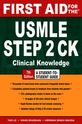 First Aid for the USMLE Step 2 CK, Seventh Edition by Tao Le