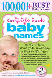 Complete Book of Baby Names by Lesley Bolton