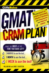 GMAT Cram Plan by William Ma