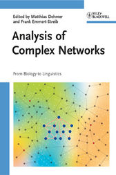 Analysis of Complex Networks by Matthias Dehmer