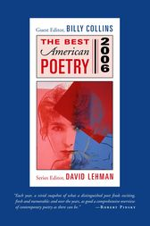 The Best American Poetry 2006 by David Lehman