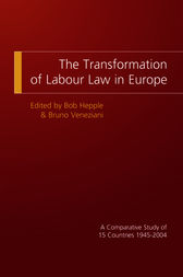 The Transformation of Labour Law in Europe by Bob Hepple