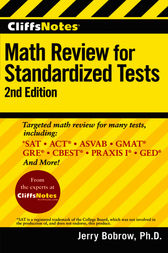 Math Review for Standardized Tests by Jerry Bobrow