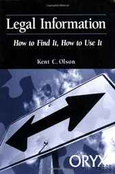 Legal Information by Kent Olson