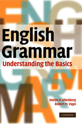English Grammar by Evelyn P. Altenberg