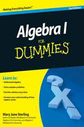 Algebra I For Dummies by Sterling