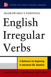McGraw-Hill's Essential English Irregular Verbs by Mark Lester