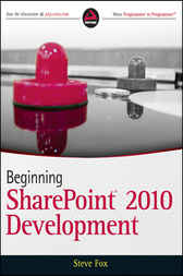 Beginning SharePoint 2010 Development by Steve Fox