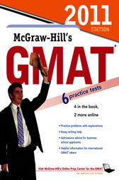 McGraw-Hill's GMAT, 2011 Edition by James Hasik