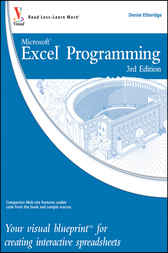 Excel Programming by Denise Etheridge