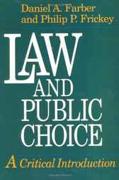Law and Public Choice by Daniel A. Farber