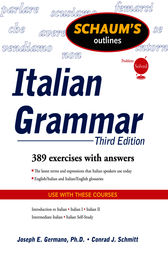 Schaum's Outline of Italian Grammar, Third Edition by Joseph Germano