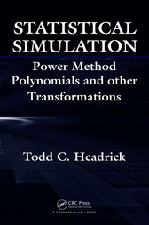 Statistical Simulation by Todd  C. Headrick