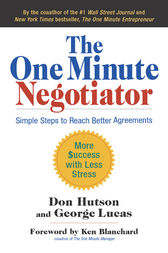 The One Minute Negotiator by Don Hutson