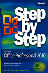 Microsoft® Office Professional 2010 Step by Step by Joan Lambert