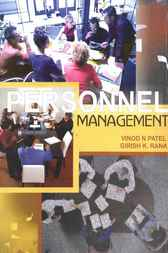 Personnel Management by Vinod N. Patel