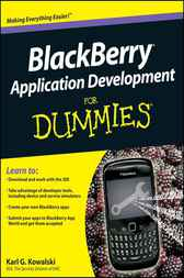BlackBerry Application Development For Dummies by Karl G. Kowalski