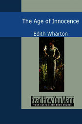 An analysis of the age of innocence by edith wharton