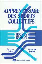 Apprentissage des sports collectifs by Jacques Caron