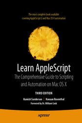 Learn AppleScript by Hamish Sanderson