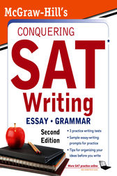 McGraw-Hill&#8217;s Conquering SAT Writing, Second Edition