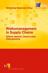 Risikomanagement in Supply Chains by Richard Vahrenkamp