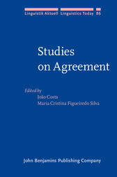 Studies on Agreement by João Costa